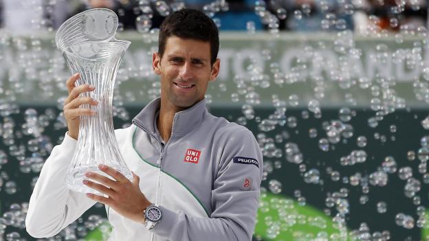 Novak Djokovic y Serena Williams ganaron el Sony Open 2014