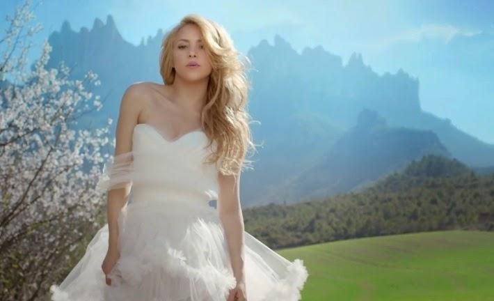 """Shakira celebra el lanzamiento del vídeo """"Empire"""""""