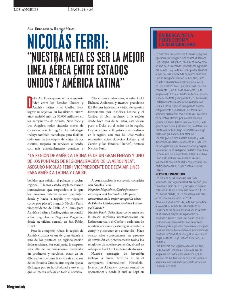 NICOLÁS FERRI: