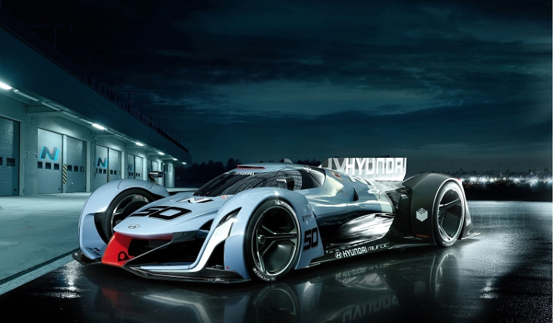 Hyundai N 2025 Vision Gran Turismo Concept Debut At Los Angeles Auto Show