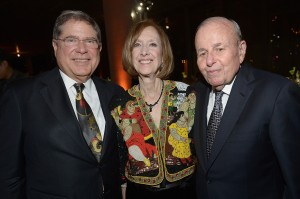 Alberto Ibarguen, Deborah Hoffman and Larry Hoffman. (Photo by Gustavo Caballero/Getty Images for PAMM).