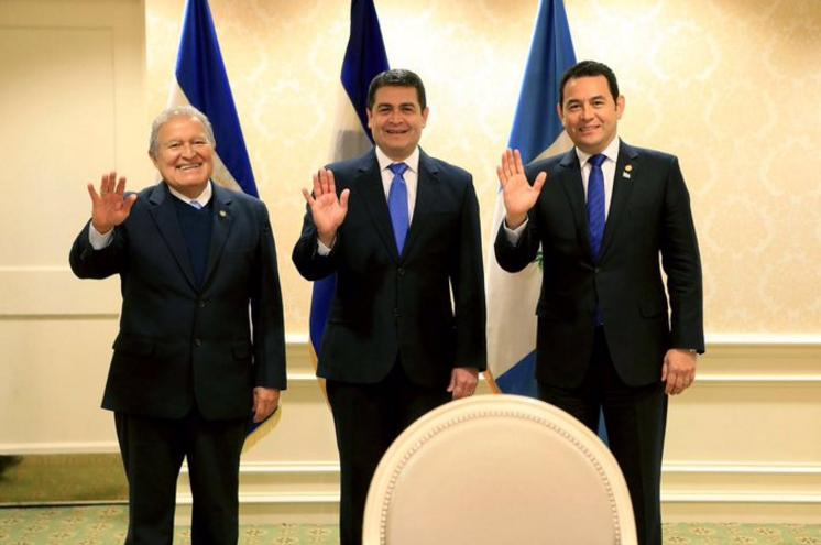 PRESIDENTES DE EL SALVADOR, GUATEMALA Y HONDURAS REAFIRMAN COMPROMISO CON EL SECTOR EMPRESARIAL