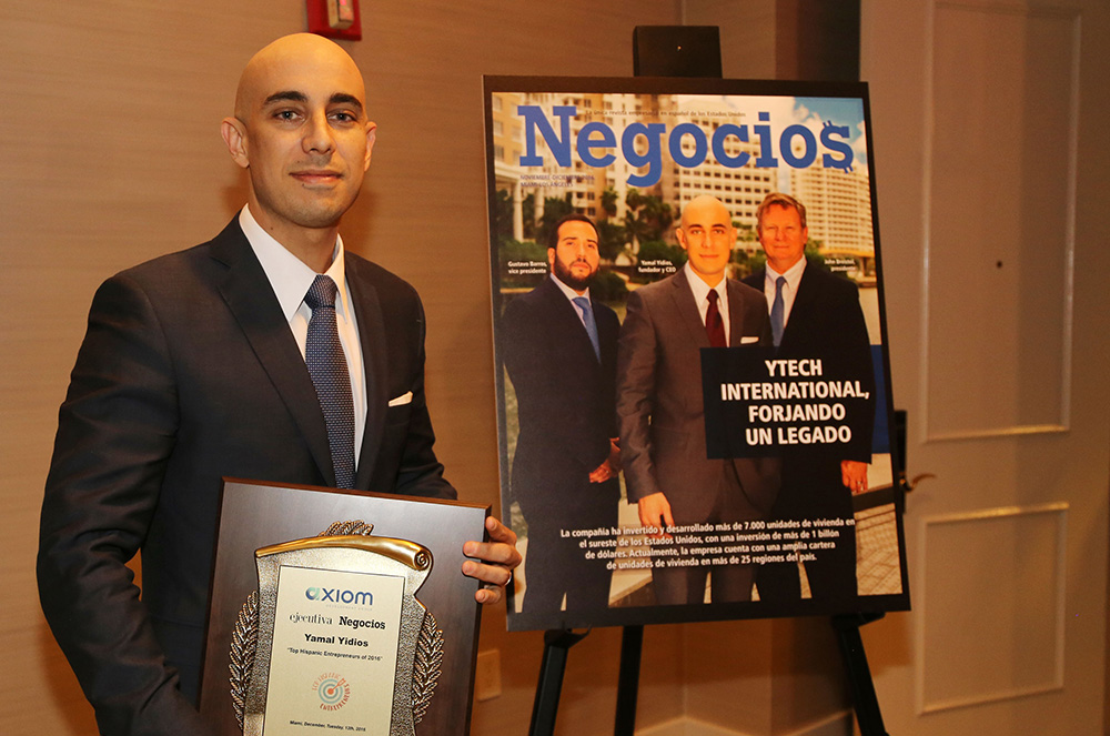 THE 2016 TOP HISPANIC ENTREPRENEUR AWARDS HAVE BEEN GIVEN