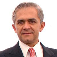 Miguel Mancera, Mayor of Mexico City.