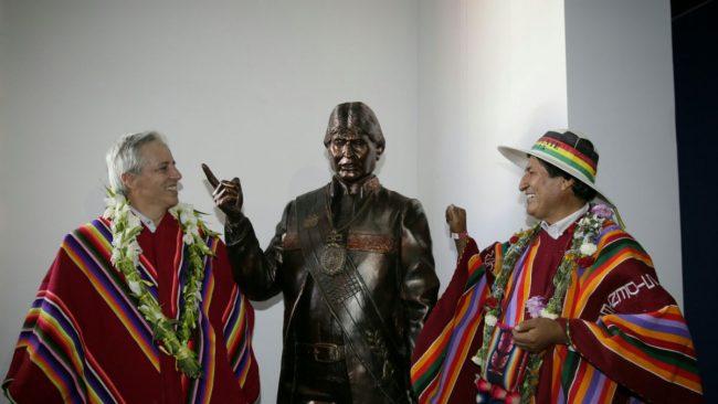 EL ESCANDALOSO MUSEO DE EVO MORALES