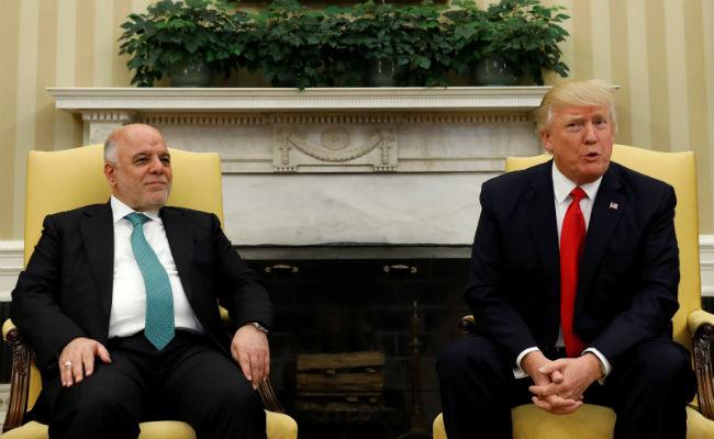 PRIMER MINISTRO DE IRAK VISITA A DONALD TRUMP ESTE LUNES
