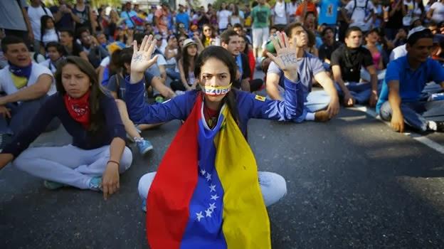 LA ESCALADA REPRESIVA EN VENEZUELA
