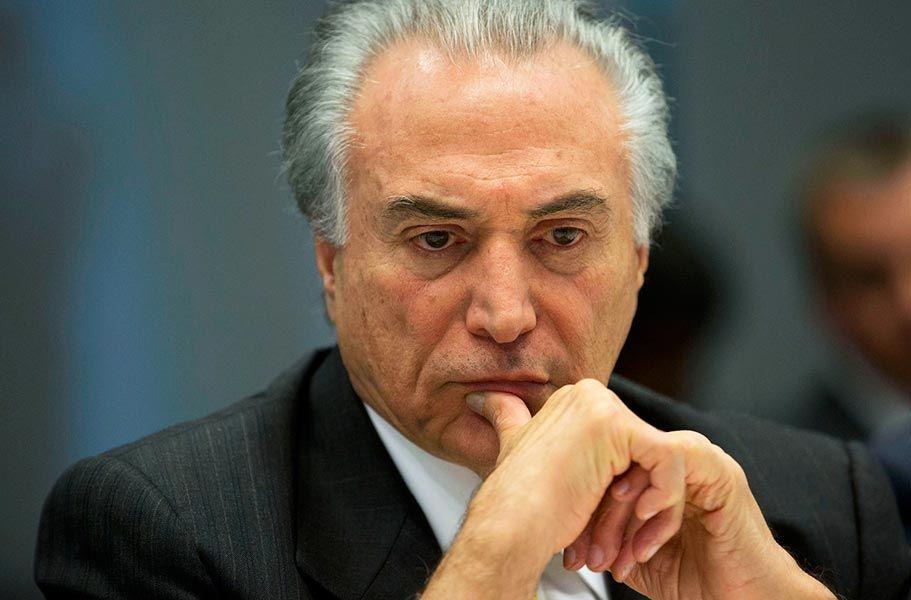 LA EMPRESA BRASILEÑA JBS ADMITE HABER PAGADO SOBORNOS AL PRESIDENTE TEMER