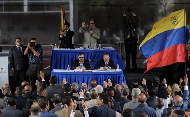 EL PARLAMENTO DE VENEZUELA ELIGE UNA CORTE SUPREMA PARALELA