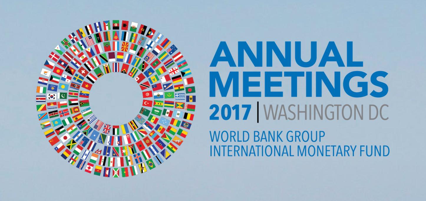 ABIERTA LA INSCRIPCIÓN A LAS REUNIONES ANUALES 2017 DEL FMI Y EL BANCO MUNDIAL