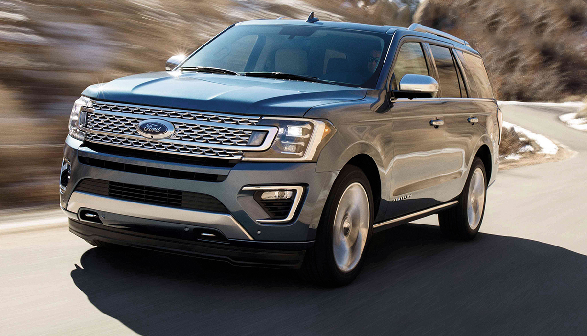 FORD EXPEDITION 2018: VANGUARDIA PURA