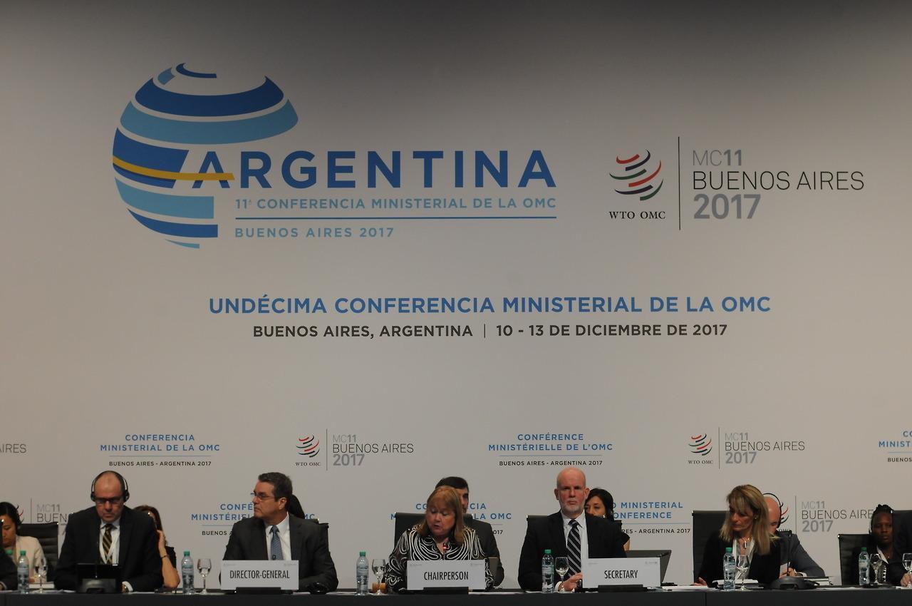 LA ORGANIZACIÓN MUNDIAL DEL COMERCIO ADMITE SU FRACASO POR LA AUSENCIA DE TRUMP