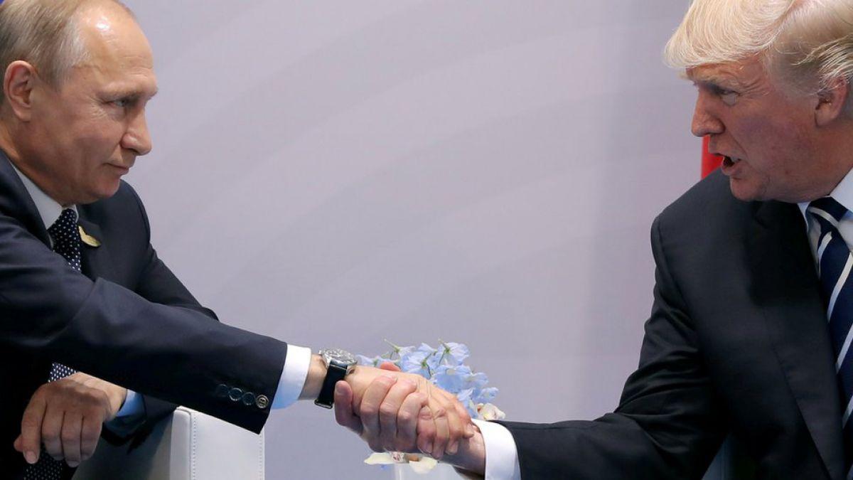 TRUMP CONGRATULA A PUTIN POR SU NUEVA VICTORIA EN ELECCIONES DE PRESIDENCIA EN RUSIA