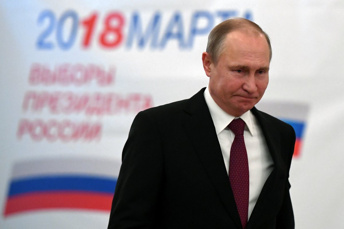 ELECCIONES EN RUSIA: VLADIMIR PUTIN GANA POR UN GRAN MARGEN