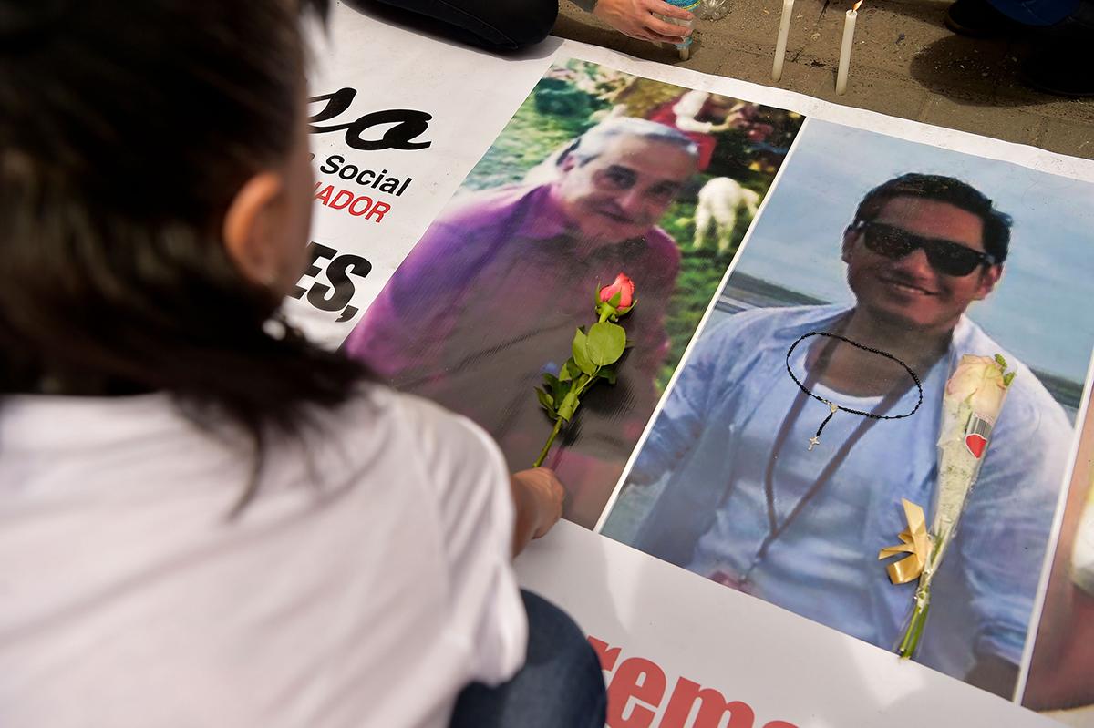 ECUADOR CONFIRMA EL ASESINATO DE TRES PERIODISTAS A MANOS DE DISIDENTES DE LAS FARC