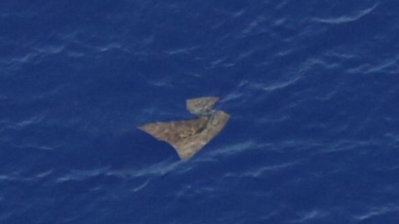 Imágenes de objetos vinculados con el avión perdido fueron obtenidas hace varios días