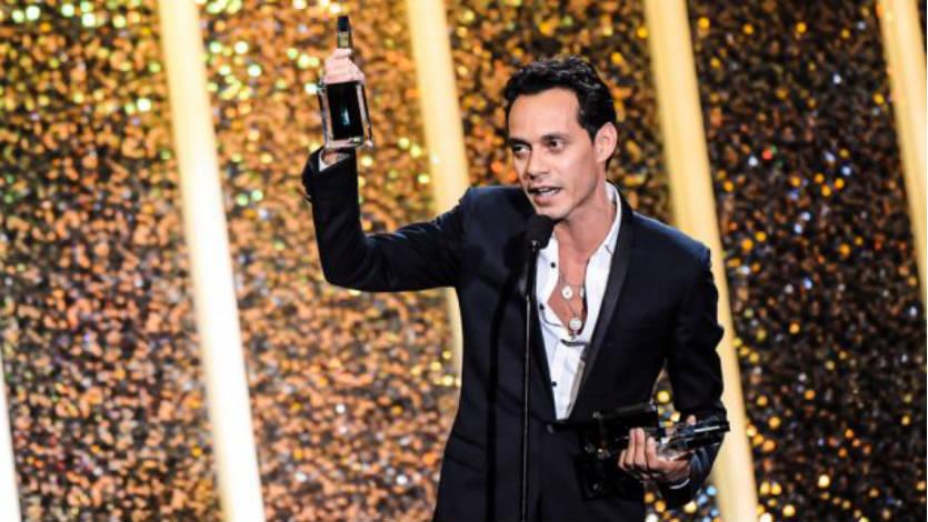 Marc Anthony: Artista del año, canción del año y álbum latino del año