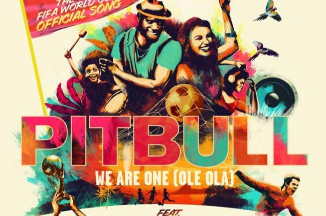 El himno de la Copa del Mundo 2014 'We Are One' de Pitbull junto a  J.Lo no supera el 'Waka Waka' de Shakira (Mundial Sudáfrica 2010)