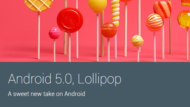 Android 5.0 Lollipop, ya está disponible para los desarrolladores