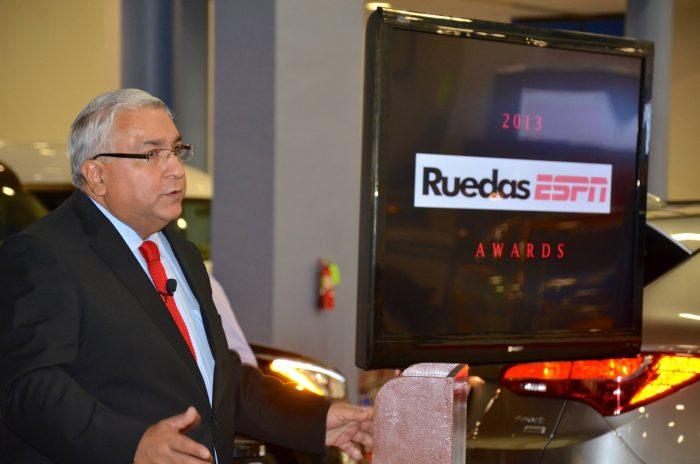 Ruedas ESPN Premia los Mejores Vehículos del Año