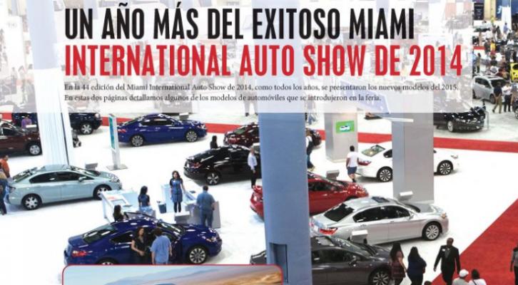 UN AÑO MÁS DEL EXITOSO MIAMI INTERNATIONAL AUTO SHOW DE 2014