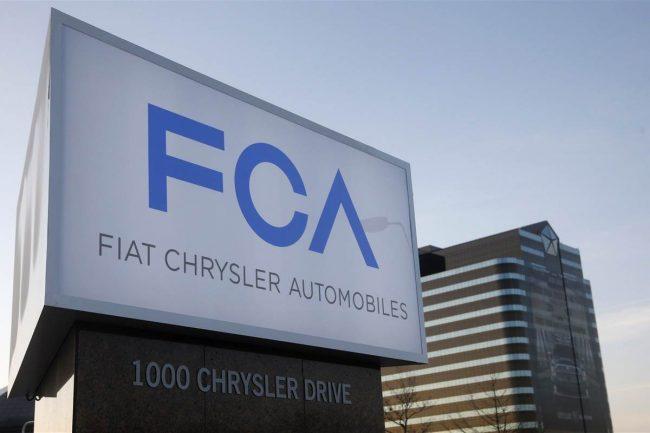 Grupo Chrysler pasa a llamarse FCA US