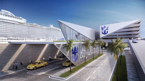 ROYAL CARIBBEAN ANUNCIÓ LA CONSTRUCCIÓN DE UNA NUEVA MEGATERMINAL EN EL PUERTO DE MIAMI