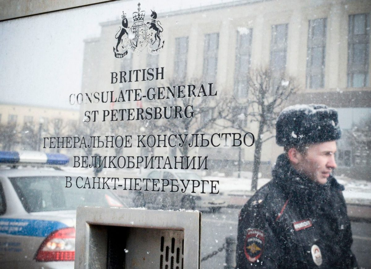 RUSIA RESPONDE EXPULSANDO A 23 DIPLOMÁTICOS BRITÁNICOS