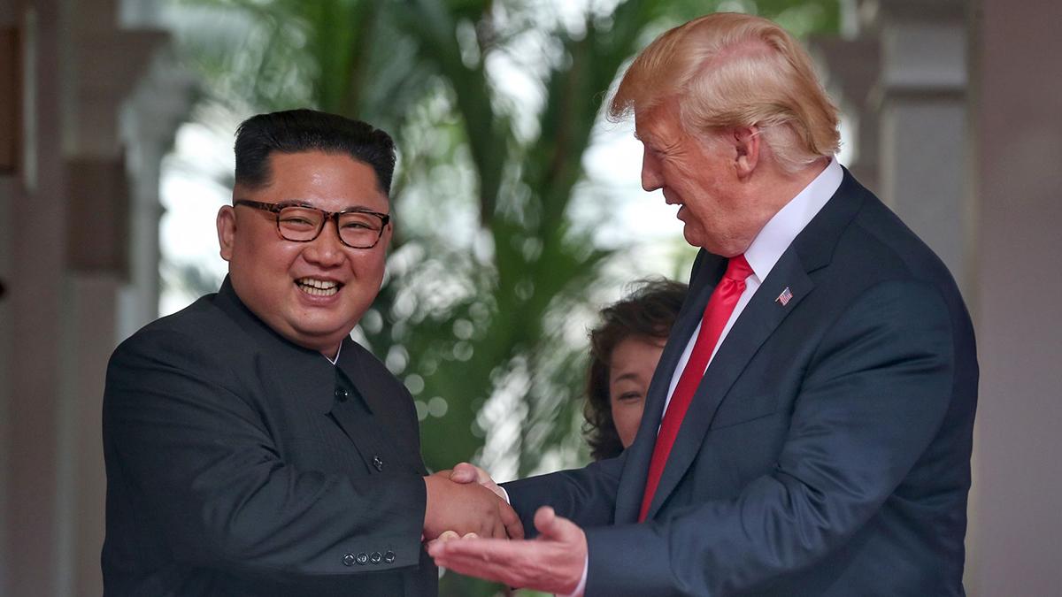 LA RELACIÓN ENTRE KIM JONG-UN Y DONALD TRUMP COMIENZA CON BUENA PREVISIÓN