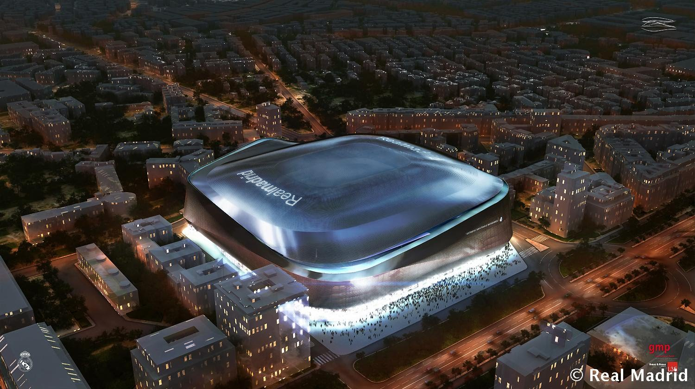 EL NUEVO ESTADIO DEL REAL MADRID LE COSTARÁ AL CLUB ENDEUDASE 575 MILLONES DE EUROS