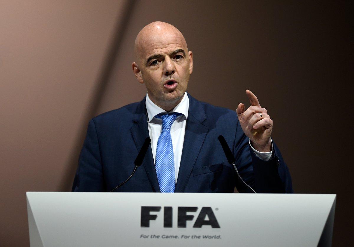 PRESIDENTE DE LA FIFA BUSCARÁ APOYO EN VOTACIÓN PARA CREACIÓN DE 2 NUEVOS TORNEOS GLOBALES DE FÚTBOL