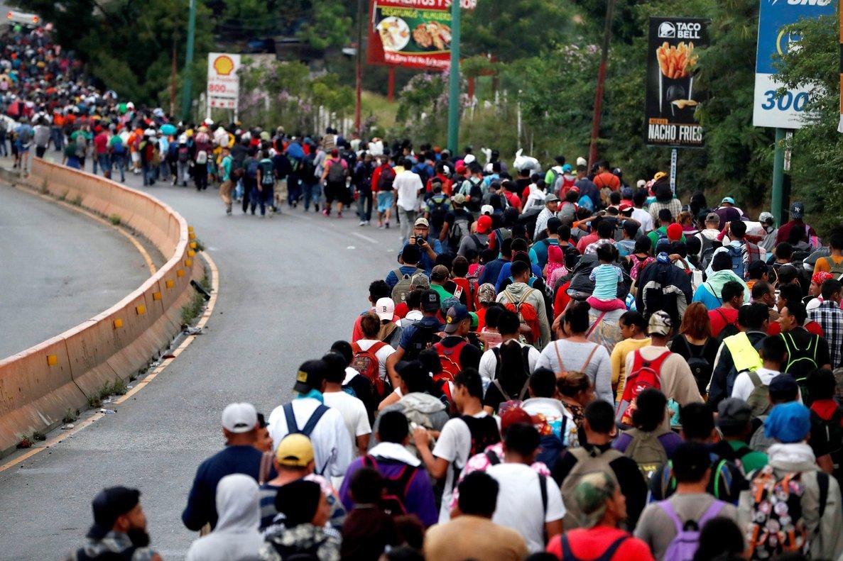 SALE LA SEGUNDA CARAVANA DESDE EL SALVADOR DIRECCIÓN A EEUU