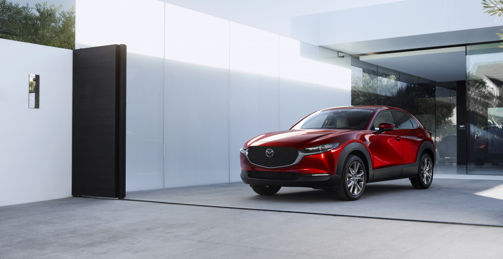 MAZDA MADE THE WORLD LAUNCH OF THE NEW COMPACT CROSSOVER SUV CX-30