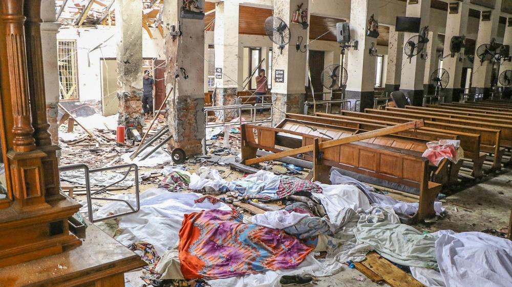 AL MENOS 290 MUERTOS Y MÁS DE 450 HERIDOS EN LOS ATAQUES TERRORISTAS EN SRI LANKA