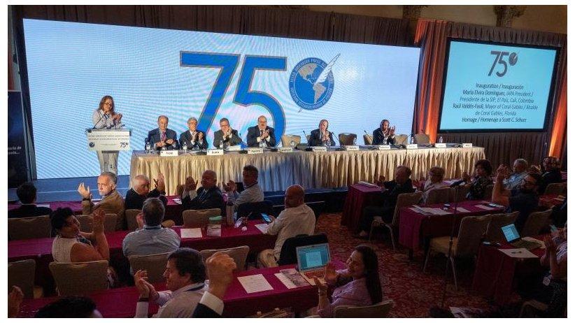 75 ASAMBLEA GENERAL DE LA SIP: UN SEMESTRE FUNESTO POR EL ASESINATO DE 13 PERIODISTAS