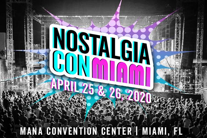 NOSTALGIACON  ANUNCIÓ SU 2DA CONVENCIÓN ANUAL DE LA CULTURA POP DE LOS AÑOS 80 EN MIAMI