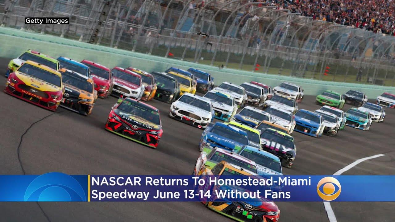 NASCAR REGRESA A MIAMI A MEDIADOS DE JUNIO, CON MENOS ESPECTADORES