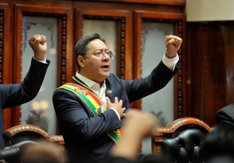 BOLIVIA TIENE NUEVO PRESIDENTE