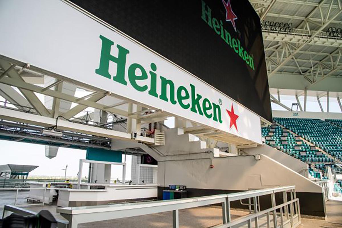 HEINEKEN USA TO BE EXCLUSIVE IMPORT BEER PARTNER OF THE HARD ROCK STADIUM