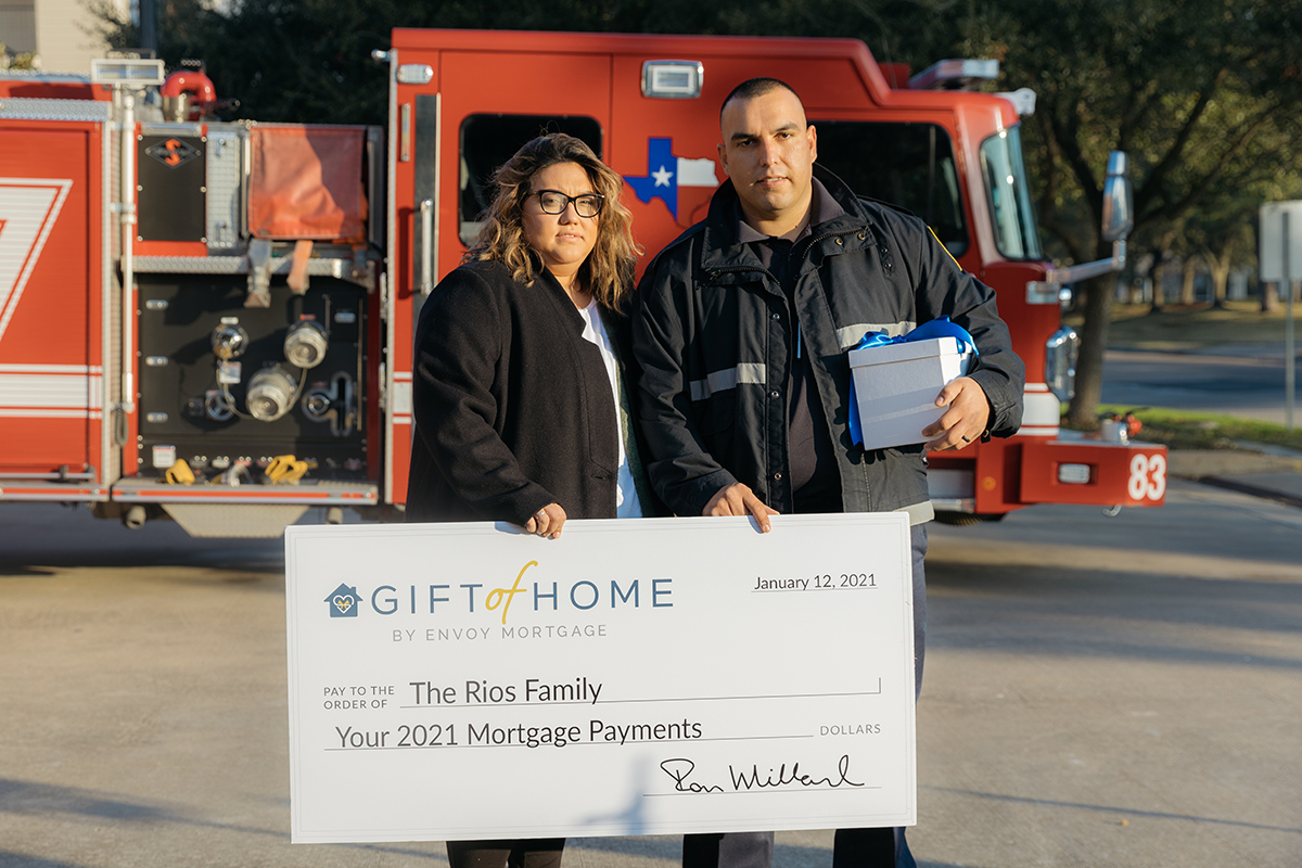 ENVOY MORTGAGE GIFT OF HOME PROGRAM TO SURPRISE 50 CUSTOMERS ACROSS THE U.S. WITH MORTGAGE ASSISTANCE